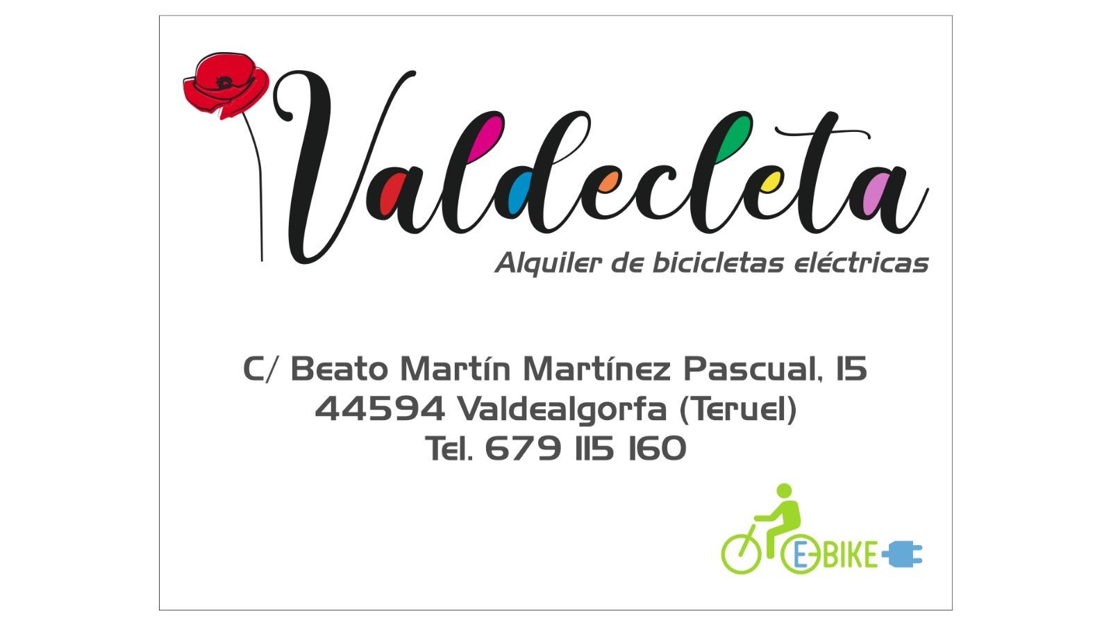 alquiler de bicicletas valdealgorfa